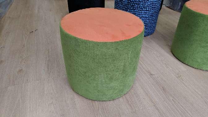 Imagen producto Puff NUEVOS diferentes colores Pierre Frey 4