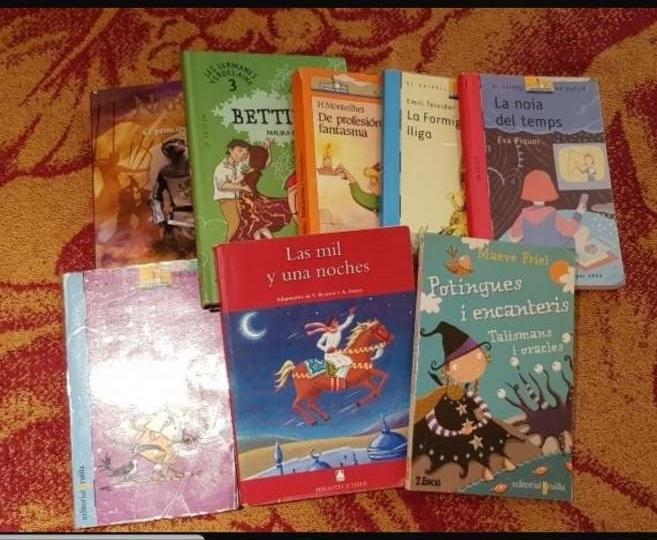 Imagen libros de lectura infantil y adolescente