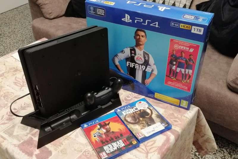 Imagen PlayStation (1TB) COMO NUEVA!!!