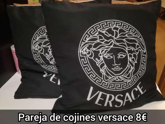 Imagen cojines versace negro