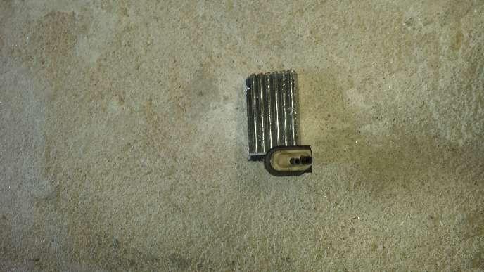 Imagen se vende radiador de calefacción de renault megane coupe año 2000 1.9 dti
