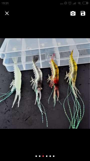 Imagen producto Señuelo artificial camarón/quisquilla 3