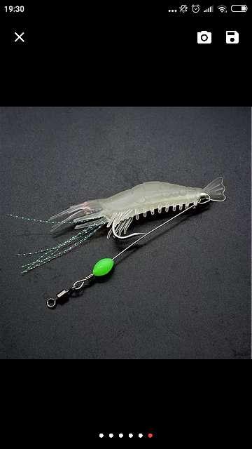Imagen producto Señuelo artificial camarón/quisquilla 6