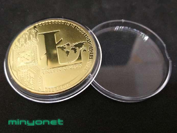 Imagen Moneda Litecoin LTC criptomoneda