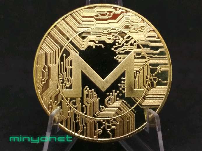 Imagen Moneda Monero XMR criptomoneda
