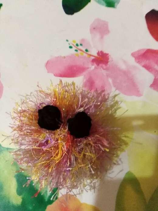 Imagen Simpático monstruito de lana.