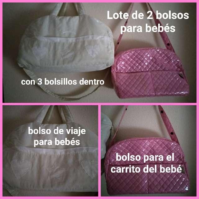 Imagen 2 Bolsos para bebé de viaje y carrito.