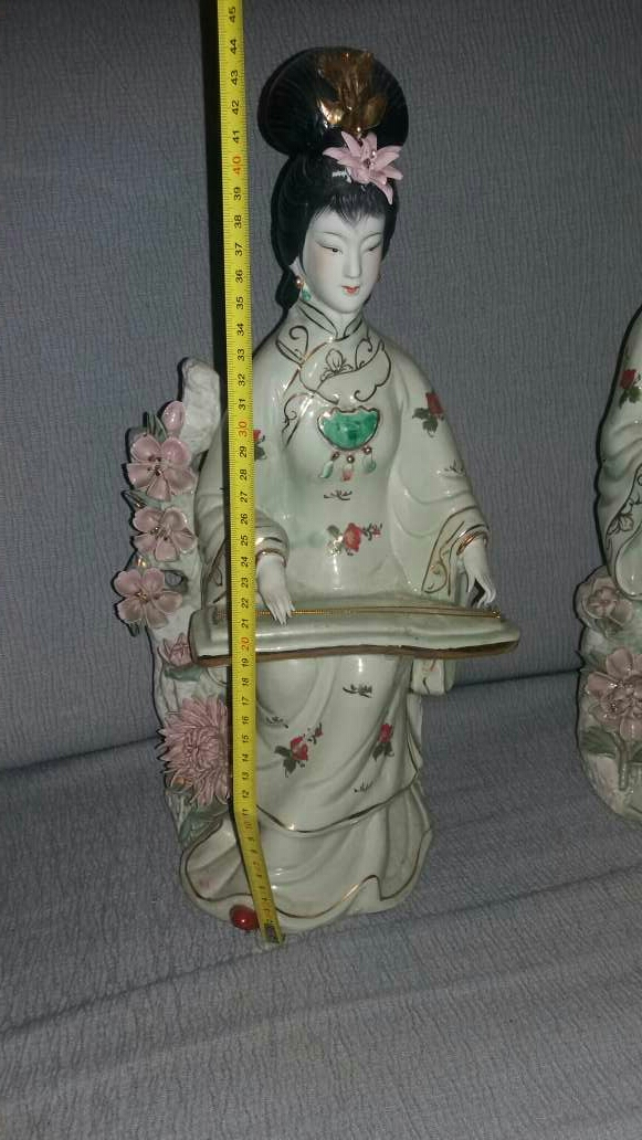 Imagen producto Pareja de figuras japonesas 2