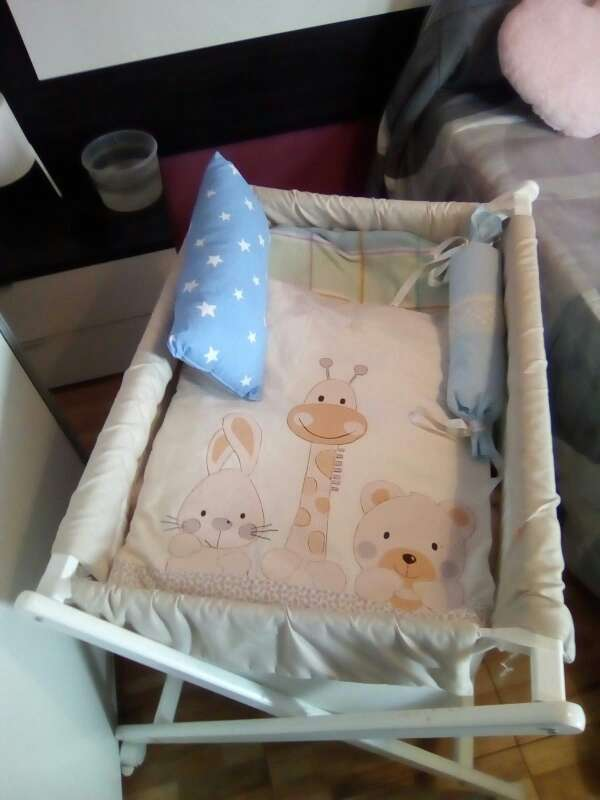 Imagen mini cuna para bebes