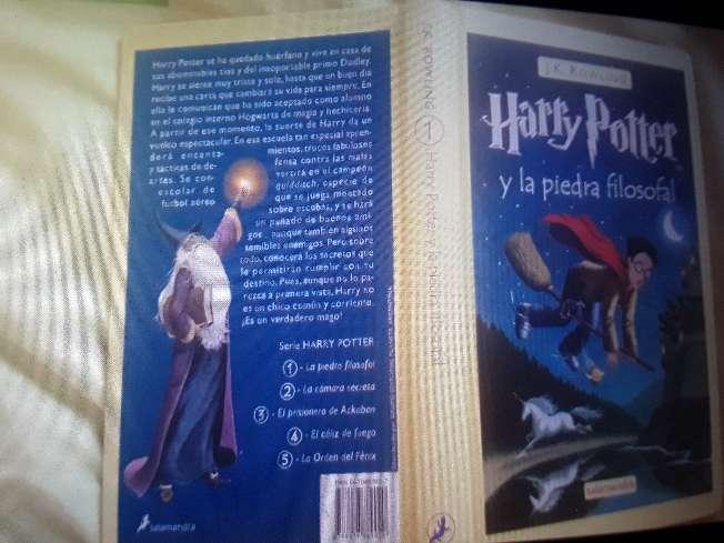 Imagen Harry Potter y la piedra filosofal original
