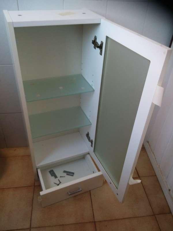 Imagen producto Armario de baño 85x35x23 4