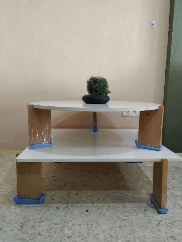 Imagen mesas bajas de madera