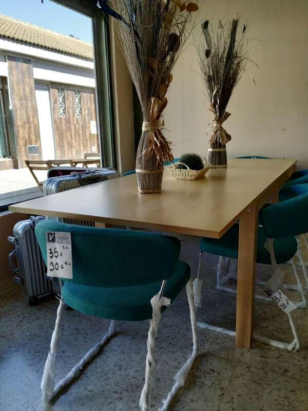 Imagen mesa de madera, extensibles y nuevas