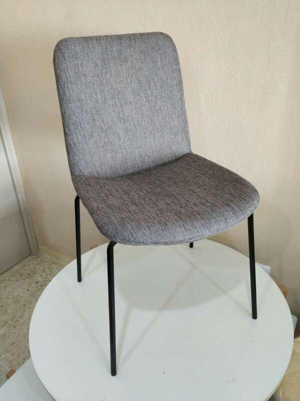 Imagen sillas de salon gris