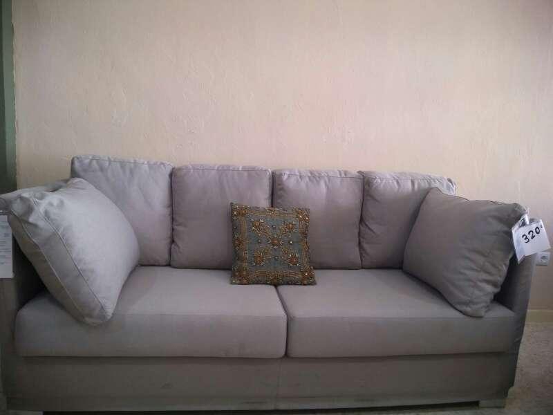 Imagen sofa nuevo beige