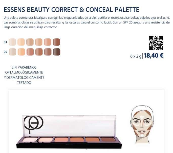 Imagen producto Paleta correctora 4