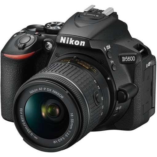 Imagen Cámara Nikon D5600 + Af-p Dx 18-55mm Vr