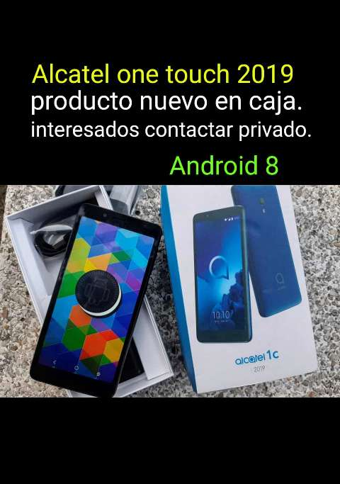 Imagen producto Android 8 Alcatel 1touch 2019 ¡NUEVO!  1
