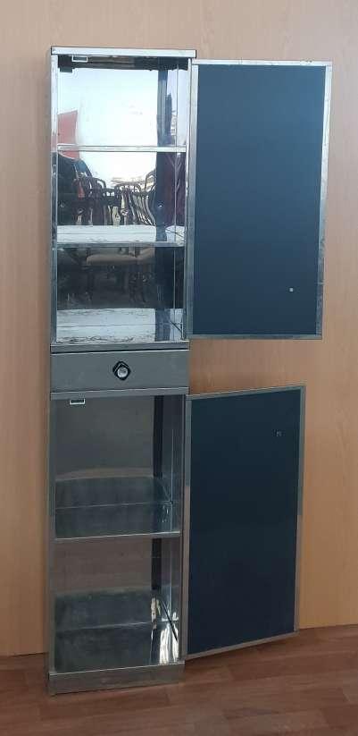 Imagen producto Mueble baño acero y espejo 25 € 2