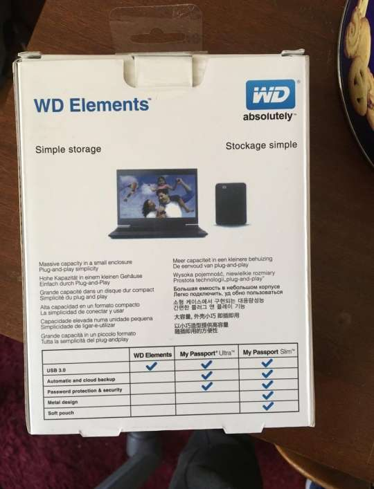 Imagen producto Disco duro WD Elements 2