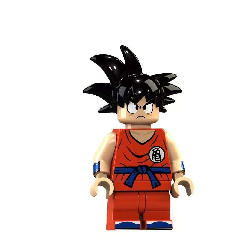 Imagen Figura de Son Goku tipo Lego