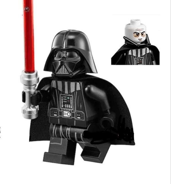 Imagen Figura de Darth Vader tipo Lego