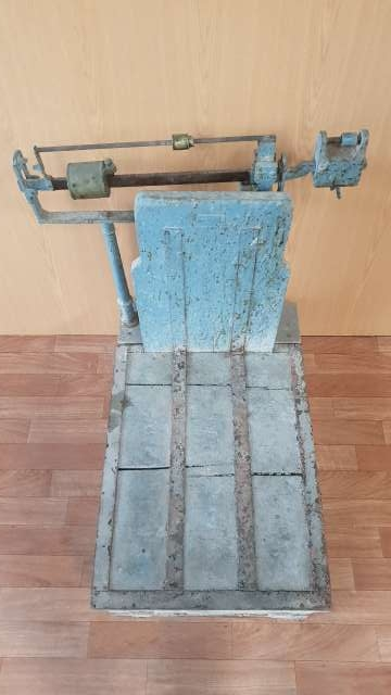 Imagen producto Bascula antigua 140 € 1