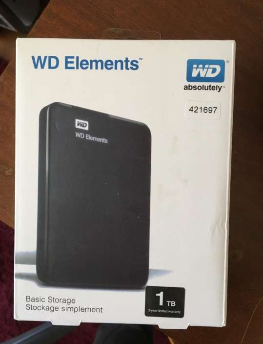 Imagen producto Disco duro WD Elements 1