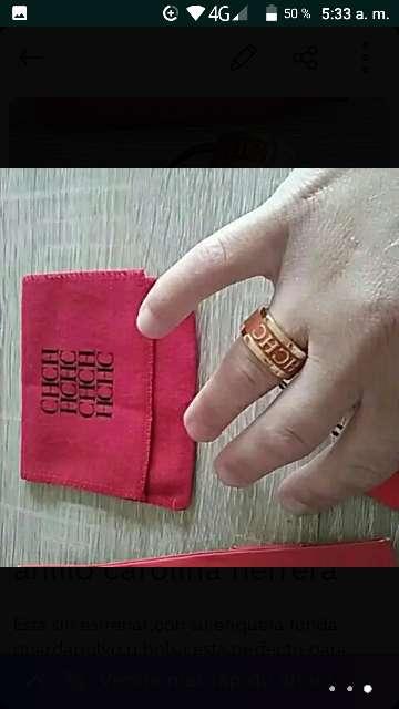 Imagen producto Anillo CH Talla M 2