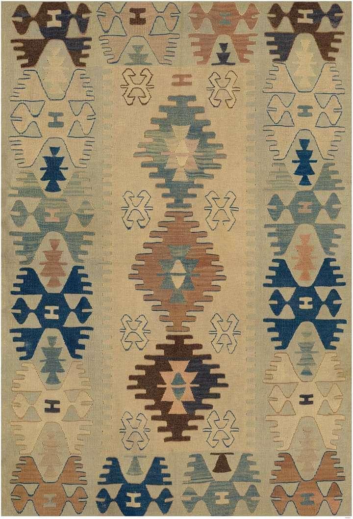 Imagen Alfombras de Turquía dibujo kilim