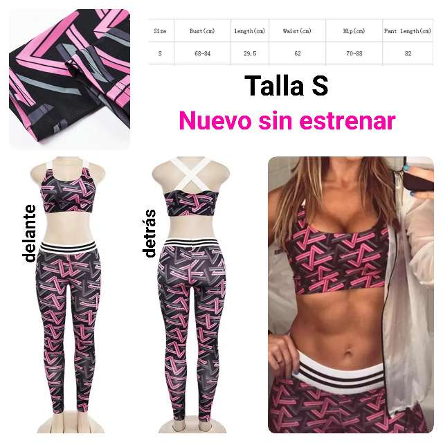 Imagen producto Conjunto deportivo yoga nuevo Talla S. 1
