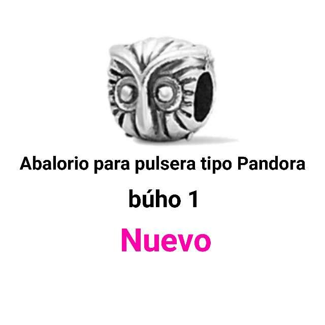 Imagen Abaloriospulseras tipo Pandora. búho. Nuevo.