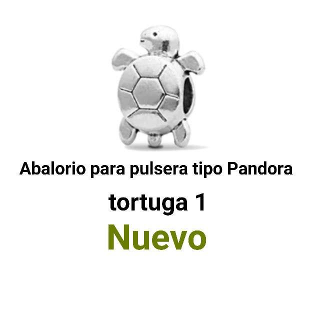 Imagen Abalorio pulseras tipo Pandora. tortuga. nuevo.