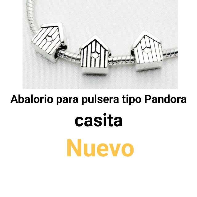 Imagen Abalorio pulseras tipo Pandora. casita.Nuevo.