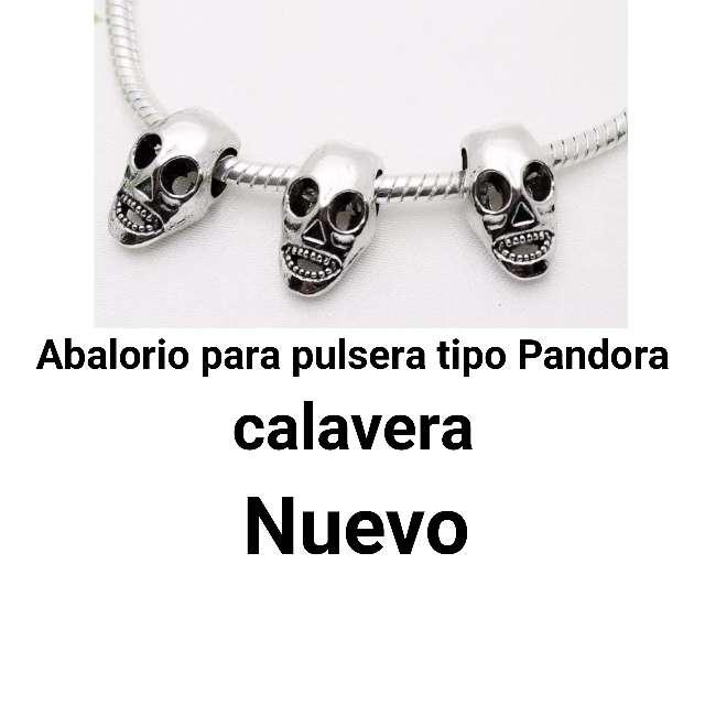 Imagen Abalorio pulseras tipo Pandora. calavera.Nuevo.