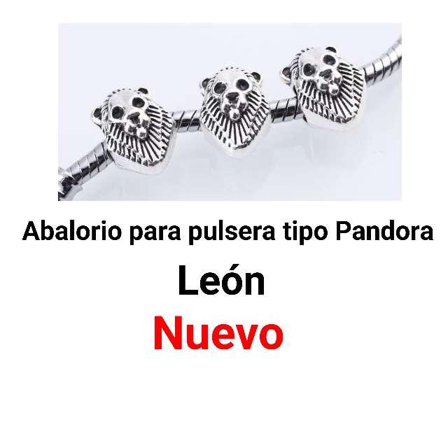 Imagen León. pulsera tipo pandora. nuevo.