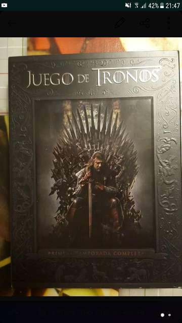 Imagen Dvd primera temporada juego d tronos