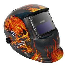 Imagen producto Careta electrónica para soldar Freedom eagle 6710; o Flaming Skull Adir 2