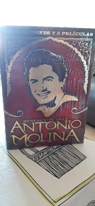Imagen discografía en DVD a estrenar de Antonio Molina