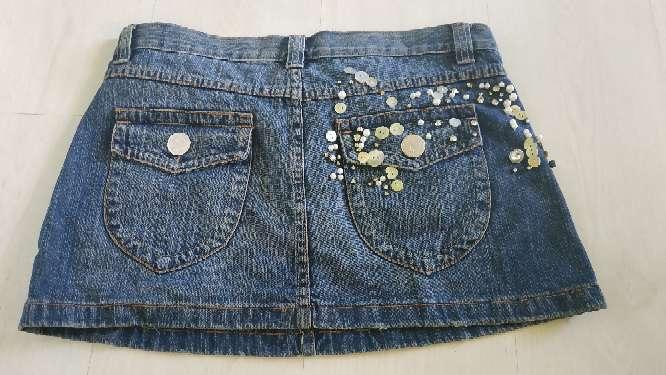 Imagen producto Mini falda vaquera  3