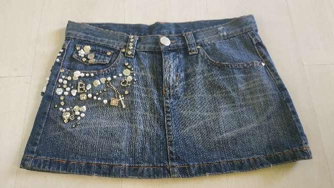 Imagen producto Mini falda vaquera  2
