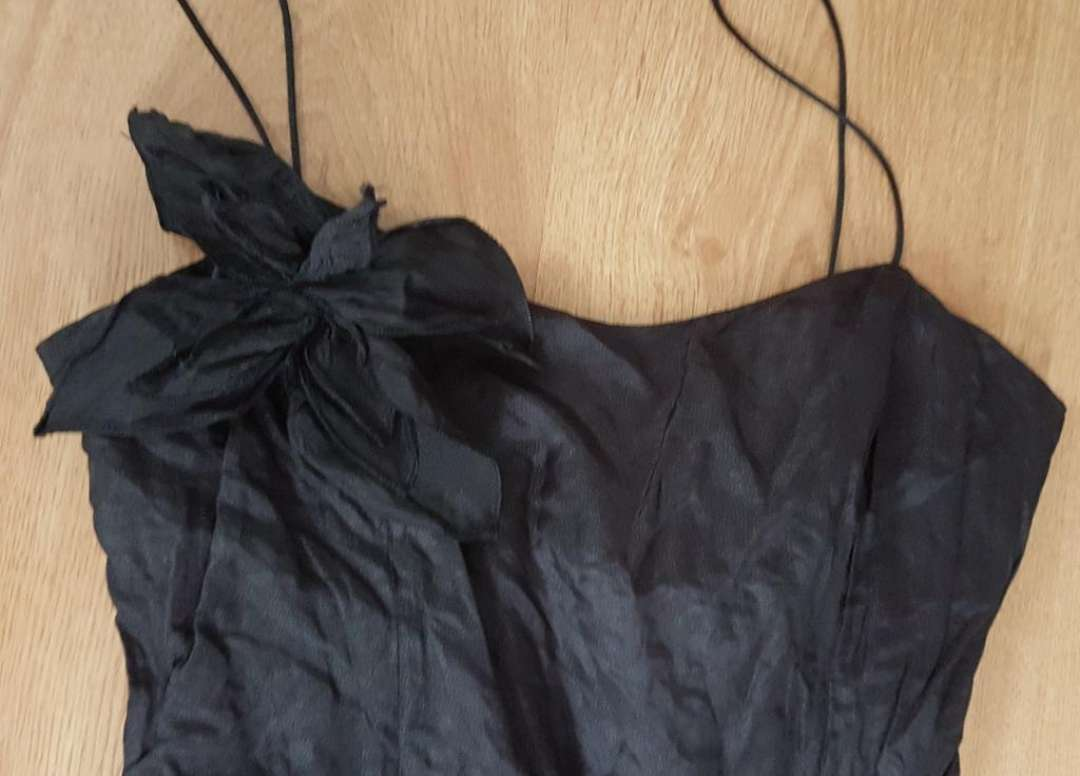 Imagen producto Vestido negro boda celebración 40 3