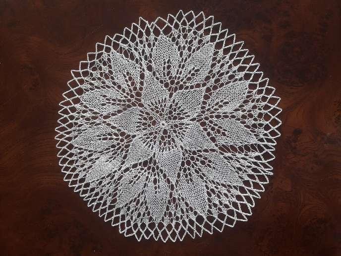 Imagen producto Pañitos artesanales,mapas y mosaico para fotos 2