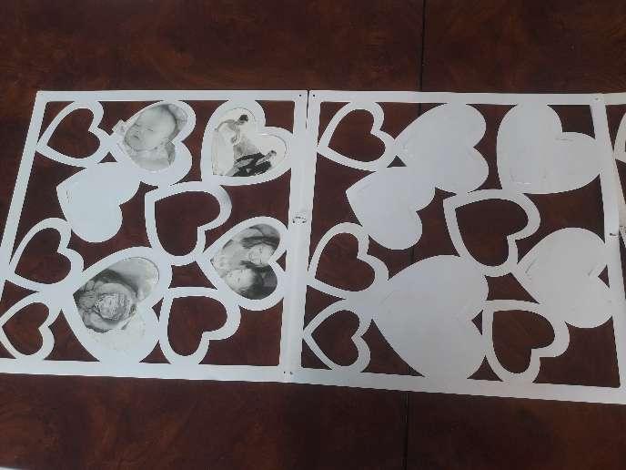Imagen producto Pañitos artesanales,mapas y mosaico para fotos 8