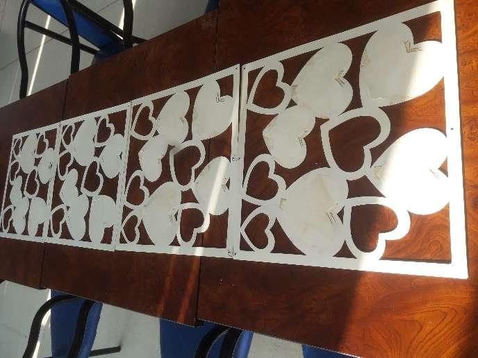 Imagen producto Pañitos artesanales,mapas y mosaico para fotos 7