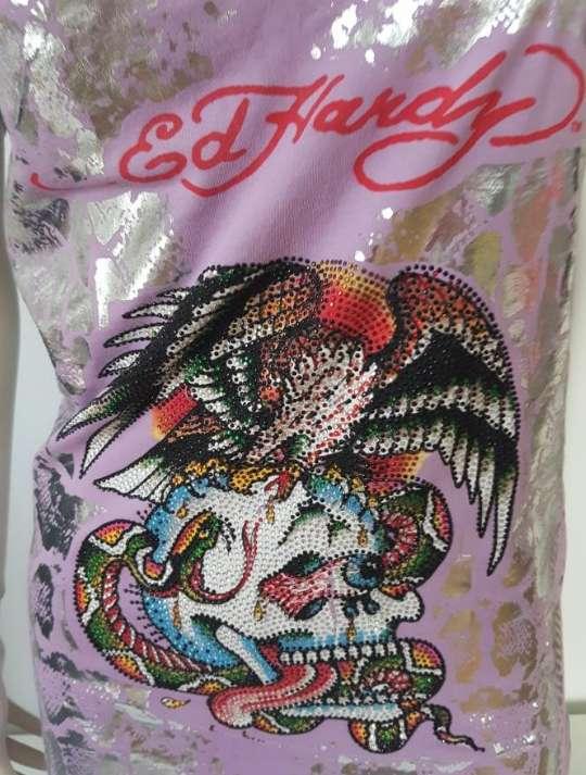 Imagen producto Camiseta mujer Ed Hardy S 3