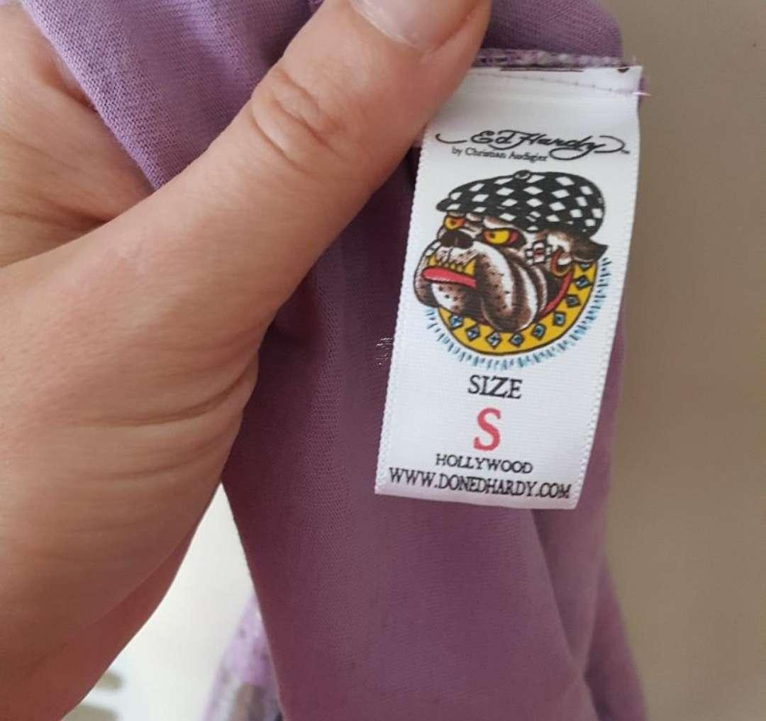 Imagen producto Camiseta mujer Ed Hardy S 4