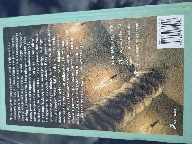 Imagen producto Harry Potter y la cámara secreta 2