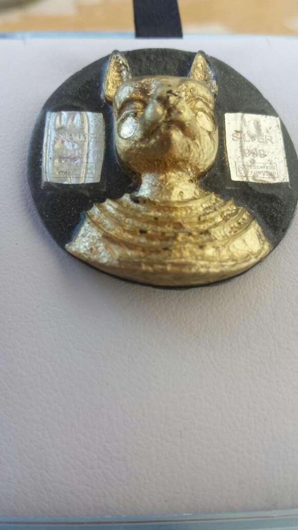 Imagen producto Bastet diosa y plata pura 999 4