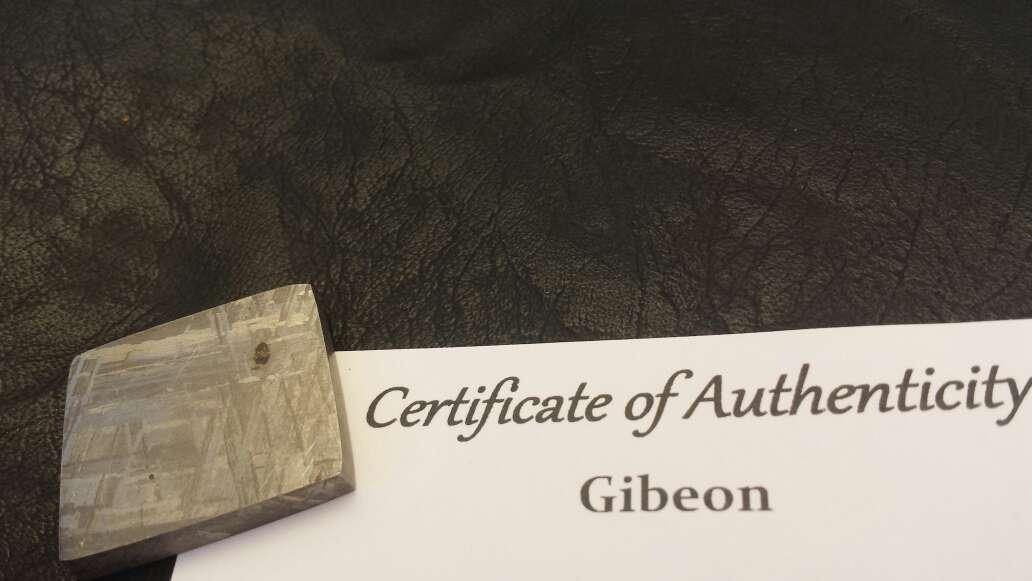 Imagen meteorito gibeon garantía